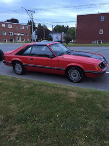 1983 Ford Mustang GT Coupe (2 door)