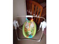 FisherPrice baby swing
