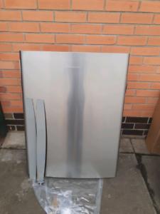 Fisher&Paykel stainless steel upside down fridge door new Reservoir Darebin Area Preview