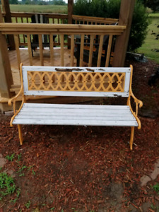 Out door bench