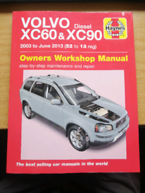 Haynes volvo xc60 and xc90 owners workshop manual