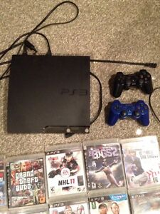 PS3 BUNDLE WITH 17 GAMES!!!!