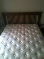 mattress and Sleigh Bed frame