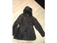 Barbour coat women's 18 brown