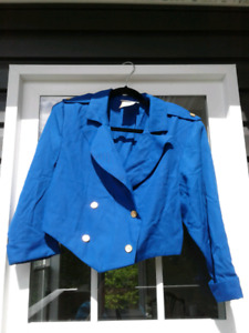 Ladies Royal Blue Jacket from the 80's