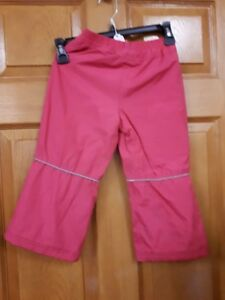 Girl's Pink Snow PantsSize: 3
