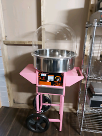 Commercial large bowel Electric candy floss Maker machine