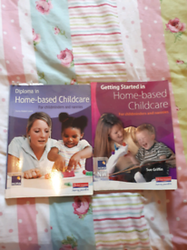 Home based childcare books x2