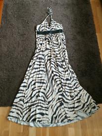 Firetrap maxi halterneck dress
