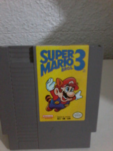 Super Mario Bros 3 Nintendo NES  Untested cartridge Only