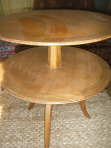 ROUND WOOD PARLOUR TABLE