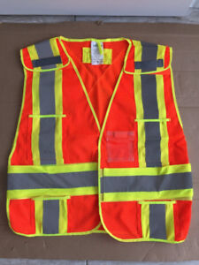 High visibility reflective safety vest from R&R Industries, Inc.