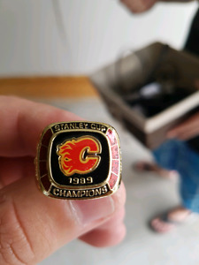 Calgary Stanley cup ring