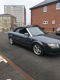 Audi A4 Convertible 2007 1.8T 7 Speed Auto