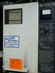 Chargeur de batteries 36 volts