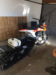2016 Timbersled ST with TSS and 2016 KTM SXF 450