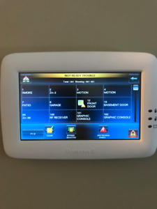 HONEYWELL TUXEDO HOME SECURITY SYSTEM WITH TOTAL CONNECT 2
