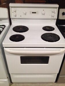 GE coil top stove