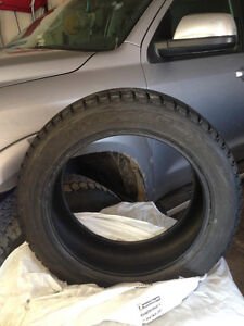 "19"" Bridgestone Blizzak Winter Tires"