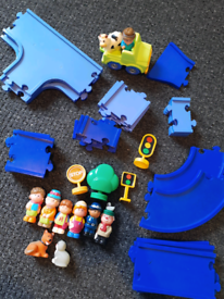 Happyland track and figures