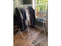 Habitat clothing rails