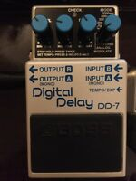 Boss DD-7 / Digital delay