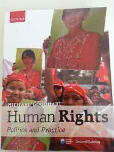 Human Rights; Politics and Practice by Michael Goodhart, 2nd ED Kitchener / Waterloo Kitchener Area image 1