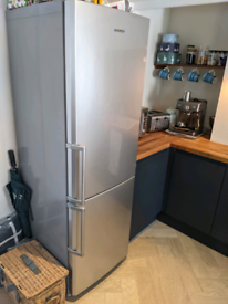 Samsung silver fridge freezer