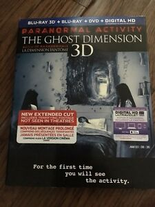 Paranormal Activity Blu-Ray New in packaging