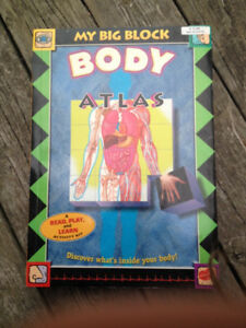 My Big Block Body Atlas 3D book