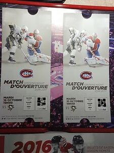Montreal Canadiens Home Opener 321BB Center Whites