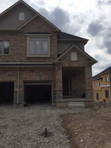 This brand new townhouse home is ready for possession.