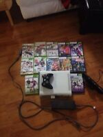 Xbox 360 and Kinect!!! With 12 Games