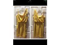 Bcbgmaxazria Silk Bandeau Short dress 8UK