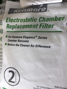 Vacuum Cleaner Bags & Filter for Kenmore Canister Vacuums