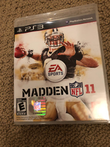 PS3 Games: Black Ops, Madden 11