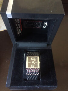 Lotus black watch for women (with the box) ($230+ value)