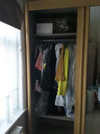 Triplew Wardrobe with Sliding Doors (Beech)