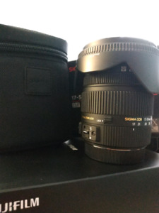 Sigma 17-50mm f/2.8 EX DC OS HSM for canon