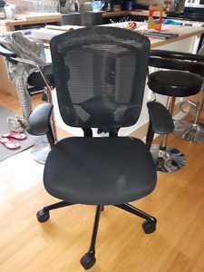 Solid steel frame office chair