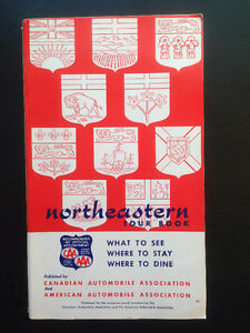 Northeastern Tour Book -  Published by CAA/AAA 1964/5