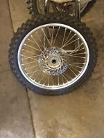 Front dirt bike tire