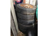 Ford Escort Van Wheels/Tyres