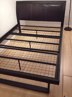 Black Steel Double Bed Frame for Sale Only $150!!