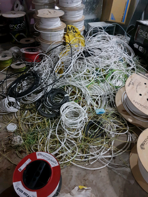 Scrap Electrical Cable Collectors in London