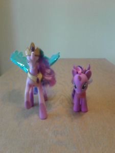 My Little Pony - Talking Princess Celestia and Twilight Sparkle