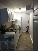 All inclusive basement apt- October 1st!