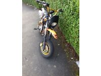 Xplorer 125cc road legal pitbike