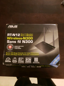 Asus 3 in 1 wireless Router.