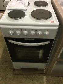 Bexel Bright white Electric Cooker New boxed